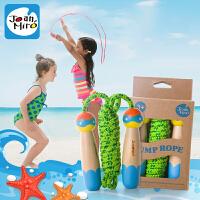 欢乐童年-美乐儿童跳绳木质卡通 幼儿园跳绳玩具专业小孩跳绳早教儿童玩具