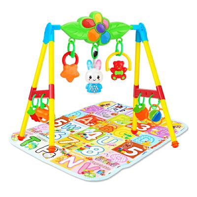 音乐健身架0-1岁健身器早教玩具新生婴儿玩具3-6-12个月儿童宝宝