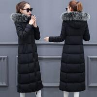 冬季新款羽绒棉服女加厚保暖外套棉衣女长款过膝棉袄