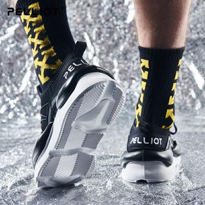 伯希和运动休闲跑步鞋男女新款时尚潮鞋防滑减震轻便旅游鞋徒步鞋 一件5折 再满200-20 优惠进行中