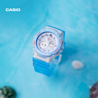 卡西欧手表女士防水潮流运动BGA-270AQ官网官方BABY-G