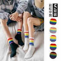 袜子女秋冬季中筒薄款韩国日系长筒秋季棉袜网红街头可爱ins潮
