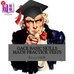 【中商海外直订】Gace Basic Skills Math Practice Test: Study Guide w