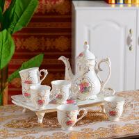 欧式陶瓷水杯套装家用水具耐高温茶壶咖啡杯具结婚乔迁礼品装