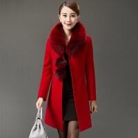 妈妈装 外套中长款呢子30-40-50岁中年女装春秋妇女衣服潮冬装