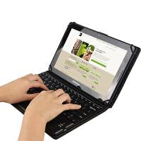 昂达V10平板蓝牙键盘皮套10.1英寸电脑无线键盘保护套支撑套鼠标