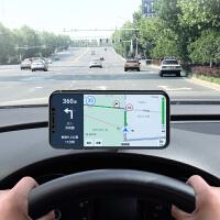 车载手机支架吸盘式车用磁性磁吸磁铁粘贴手机支架导航汽车手机架