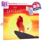 【中商原版】独立阅读系列:狮子王(配CD)英文原版 Lion King Read-Along Storybook an