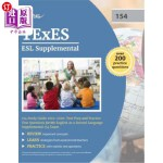 【中商海外直订】TExES ESL Supplemental 154 Study Guide 2019-2020: T