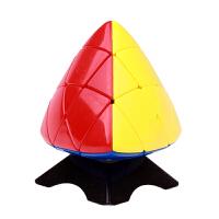 圣手魔方 四色粽子魔方 异形魔方非贴纸不掉色含教程 三阶魔棕(附秘籍)
