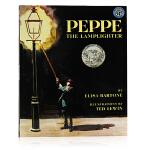 培培点灯Peppe The Lamplighter 英文原版绘本 凯迪克银奖 儿童启蒙图画故事书 平装 爱与关怀的故事