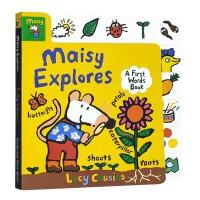 进口英文和小鼠波波一起探索Maisy Explores: A First Words Book
