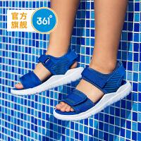 361度童鞋 男童沙滩凉鞋 儿童凉鞋中大童 2021年夏季新品魔术贴沙滩鞋N71922602