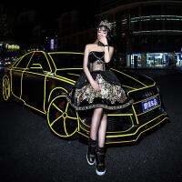 (45米)3M汽车反光贴纸车身装饰条自行车贴夜光反光膜爆裂轮毂改装