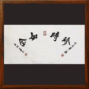 《珍时如金》王明善 中华两岸书画家协会主席R2033