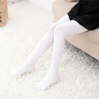 女童连裤袜春秋季薄款儿童打底裤女宝宝白色丝袜袜子练功舞蹈袜子