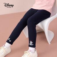 【抢购价:39.9元】迪士尼女童不倒绒打底裤秋宝宝休闲长裤洋气舒适