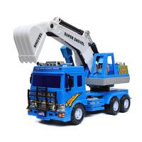 宝宝工程车2岁小孩挖土机儿童玩具车3-6周岁男孩子大号挖掘机模型