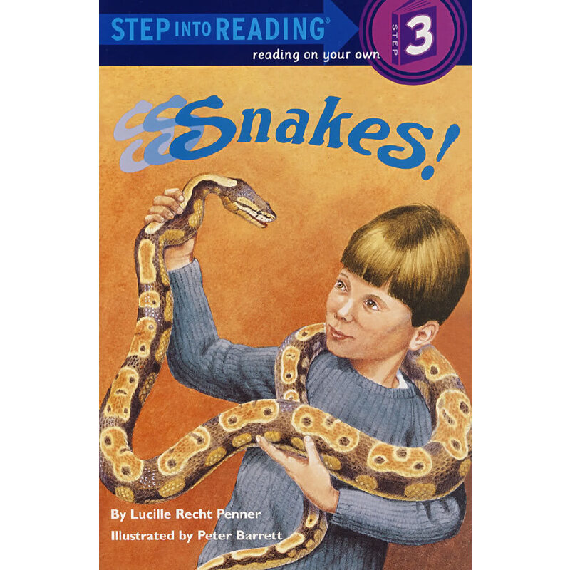 S-S-snakes! (Step into Reading, Step 3) 印度巨蛇 ISBN 9780679847779