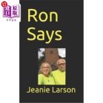 【中商海外直订】Ron Says