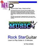 【中商海外直订】Rockstar Guitar: Learn to Play Guitar in 10 Minutes
