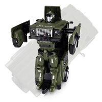 儿童遥控变形汽车机器人声光玩具车 路虎卫士车型玩具车
