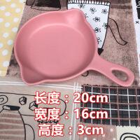 创意家用芝士�h饭烤碗盘单把手柄陶瓷西餐面包盘烤箱餐具套装