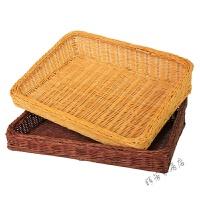 竹藤编水果盘果盆藤制收纳筐展示篮面包篮面包托盘蛋糕盘储物篮