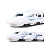 仿真高铁动车组火车玩具模型男孩儿童玩具车电动和谐号小火车