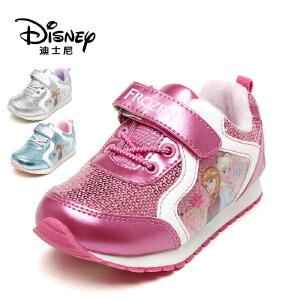 鞋柜/迪士尼女童亮片运动鞋女童休闲鞋