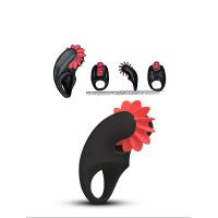 男用延时锁精震动套环男女共震刺激夫妻性玩具情趣性用品 默认规格