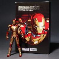 复仇者联盟钢铁侠盒装模型关节可动人偶玩具礼物 盒装现货