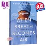 【中商原版】当呼吸成为空气 英文原版 When Breath Becomes Air 获奖小说