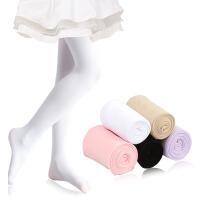 女童连裤袜夏季薄款白色连体丝袜儿童跳舞练功打底裤宝宝舞蹈袜子