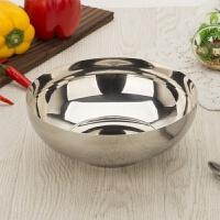 韩式不锈钢冷面碗 超大碗单层拌饭碗双层隔热碗泡面碗拉面碗汤碗餐具