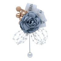 胸花婚礼全套新郎新娘结婚森系布艺花朵创意简约百搭领导胸针