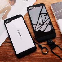 iPhone7手�C�� �O果X外��8plus保�o套子6S全包防摔黑色自�Х�m塞
