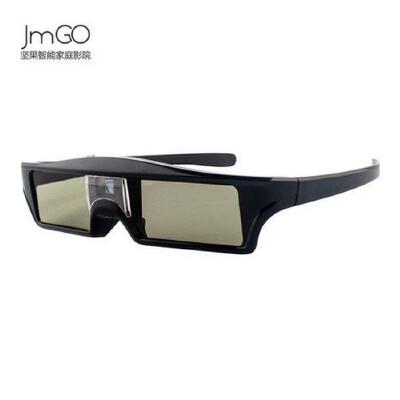 坚果(JmGO 主动快门式3D眼镜 DLP-LINK快门3D眼镜 投影仪主动式3D立体眼镜主动式3D眼镜