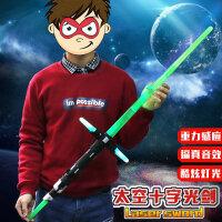 星球大战光剑激光剑可伸缩达维斯发声刀剑玩具男孩礼物星际闪光剑