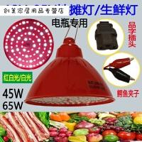 12VLED水果生鲜灯插电瓶车低压可调光红色加白光夜市摆摊猪肉创意