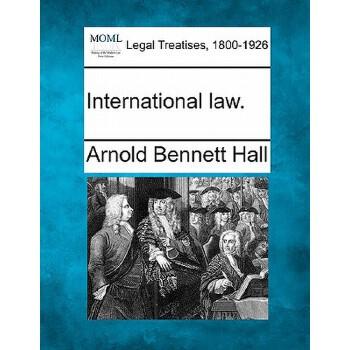 【预订】International Law. 预订商品,需要1-3个月发货,非质量问题不接受退换货。