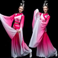 水袖舞蹈服装古典舞演出服女飘逸新款中国风仙女汉服成人