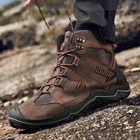 冬季新款马丁靴工装鞋男高帮鞋英伦潮流工装靴子男休闲短靴