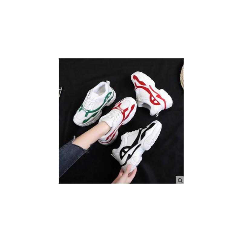 百搭休闲鞋女鞋运动鞋女韩版ulzzang原宿百搭ins超火网红老爹鞋 品质保证 售后无忧
