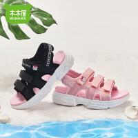 木木屋童鞋女童凉鞋公主鞋2021新款夏季男沙滩鞋凉鞋女孩子小学生