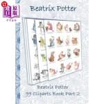 【中商海外直订】Beatrix Potter 99 Cliparts Book Part 2 ( Peter Rabb