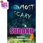【中商海外直订】Sudoku Most Scary: Warning it's too hard for you