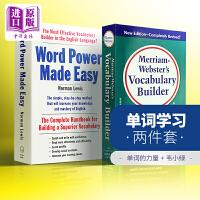 单词的力量+韦氏词根词典 工具书字典英语套装 英文原版Word Power Made Easy Vocabulary
