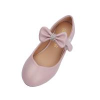 儿童皮鞋女孩公主鞋2018新款单鞋韩版黑色童鞋