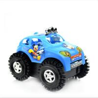 翻跟头玩具车 耐摔电动翻斗车儿童电动玩具车会翻跟头的小汽车宝宝的汽车 请勿使用南孚等强劲电池 标配